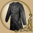 Costume - Gambeson of Black Brocade